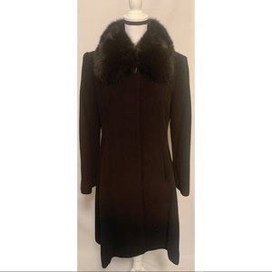 SACHI Collection size 8 wool & cashmere blend coat